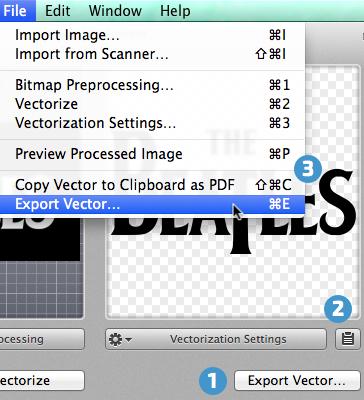 Image Vectorizer - application help